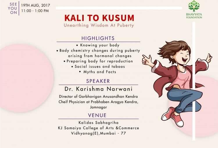 Kali to Kusum Event