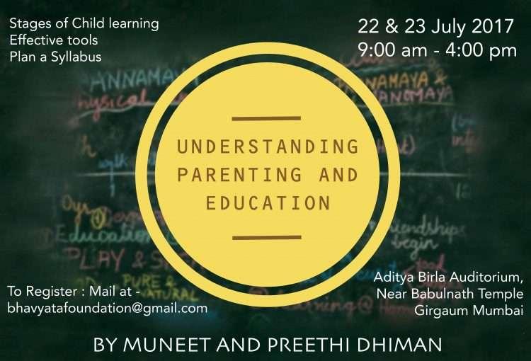 Understanding Parenting & Education Event