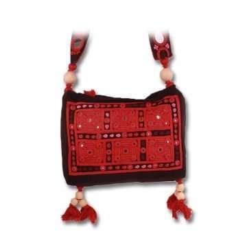 Red - Jhola Bag Lambani JBLM-01