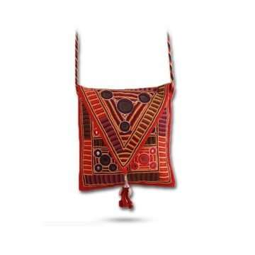 Embroidered Envelope Sling Bag Lambani ESBLM-01