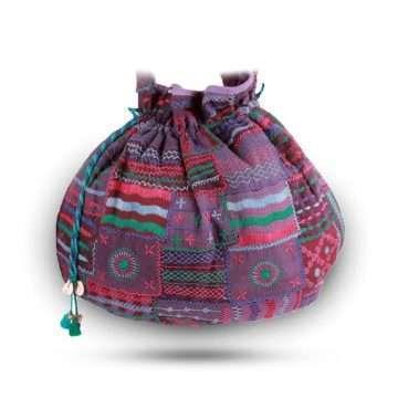 Blue Jhola Bag Lambani JBLM-01