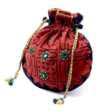Embroidered Potli Bag Lambani PBLM-01